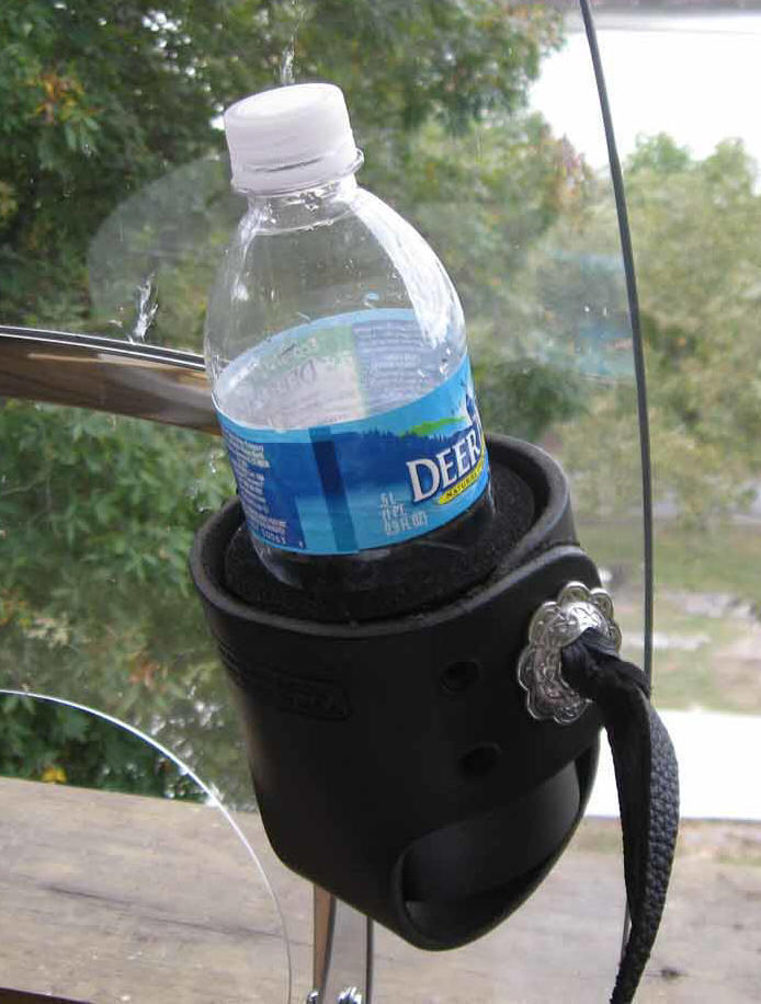 windshield cup holder