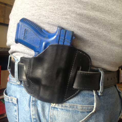 3XD high ride belt slide holster