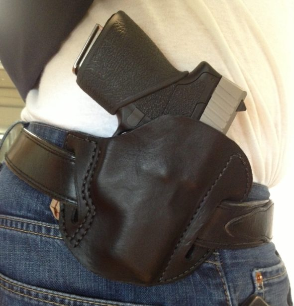 Belt Slide Holster for Kahr CW9 (2)