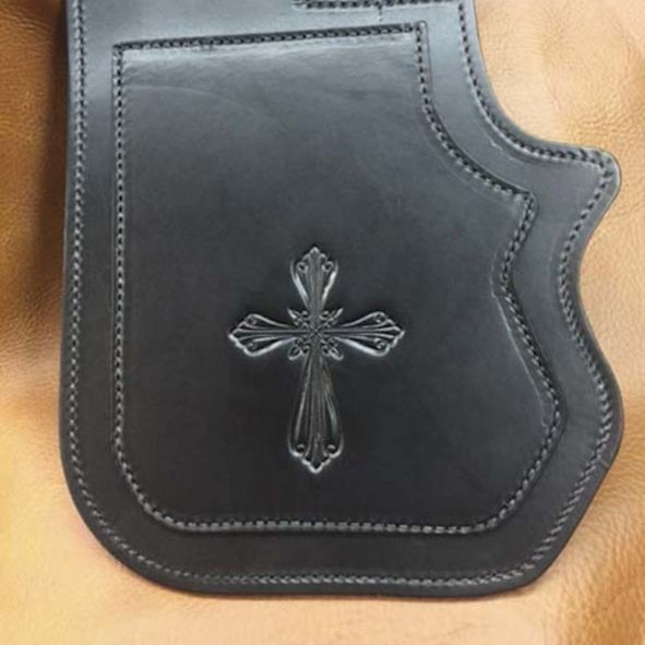 Harley heat shield double ply with cross embossing2 copy