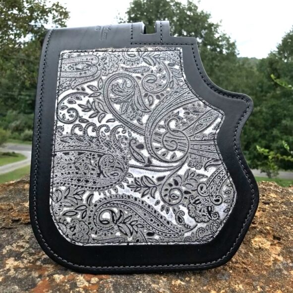 Harley-Davidson heat protector with Leather and Lace overlay