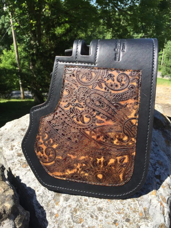 Harley heat shield Leather and Lace