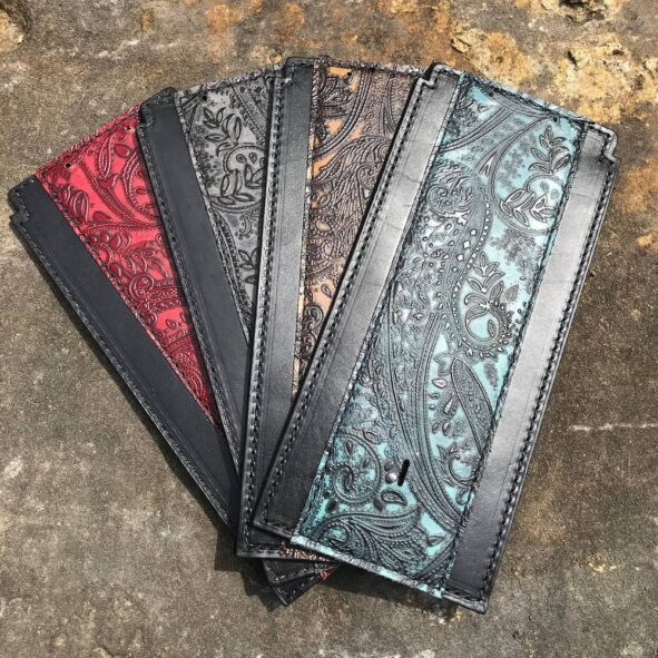 Leather and Lace Softail tank bib