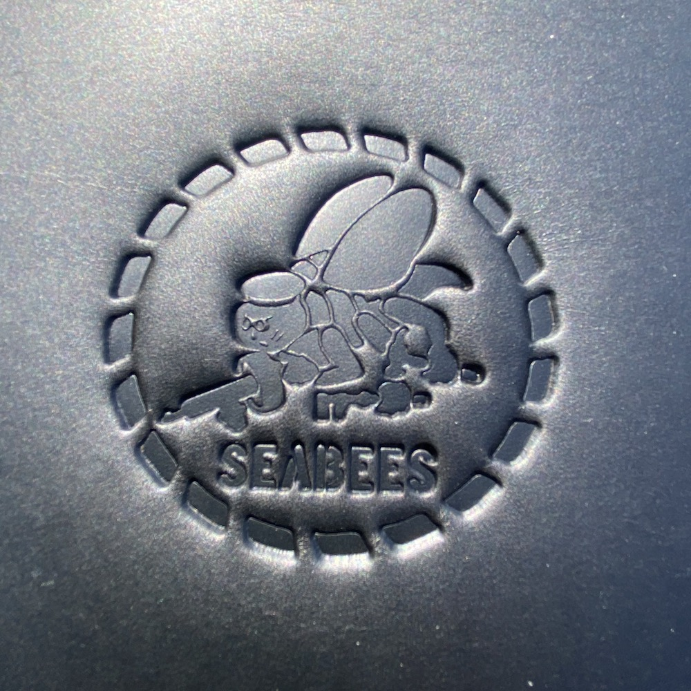 Harley-Davidson heat protector with Sea Bees embossing
